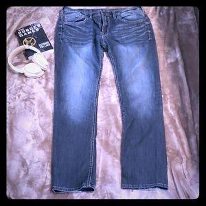 Men's Buffalo blue jeans